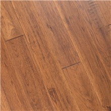 "6"" x 1/2"" Hand Scraped Hickory Autumn Prefinished Engineered Hardwood Flooring at Discount Prices by Hurst Hardwoods"