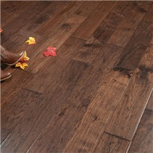 Hand Scraped Hickory Old West Prefinished Solid Wood Floor on sale at the cheapest prices by Hurst Hardwoods