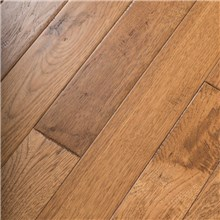 Hand Scraped Hickory Summer Road Prefinished Solid Hardwood Flooring by Hurst Hardwoods