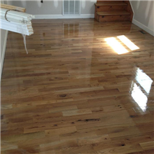 Oak #3 Common Solid Hardwood Flooring Finished & Installed